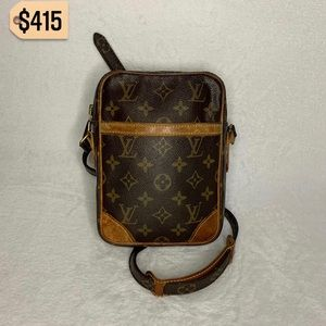 Louis Vuitton RARE Vintage Danube Crossbody Bag
